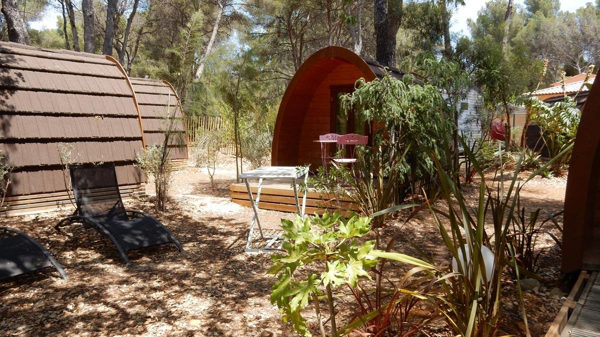 Camping Sommerküche : Glamping:das holzhaus