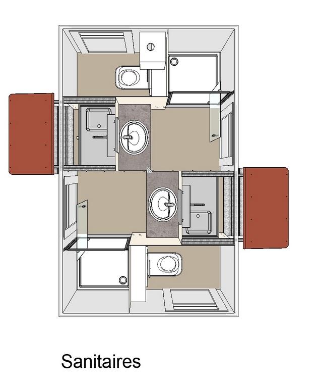 Gestaltung Glamping:Das Holzhaus