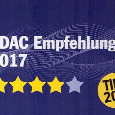 Neue Benotung durch den ADAC: Der Campingplatz wird geehrt