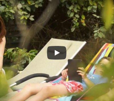 Videopräsentation Mobilhäuser voll ausgestattete Mietzelte Campingplatz Côte d'Azur