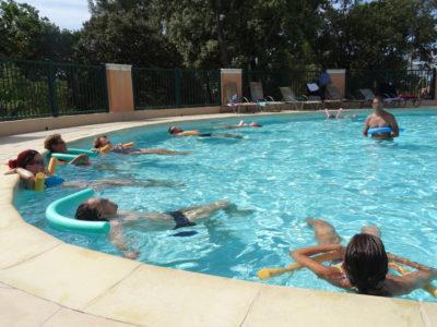 Bormes-les-Mimosas Ferien Schwimmbad Wasserpark Aquagym Mit Freunden