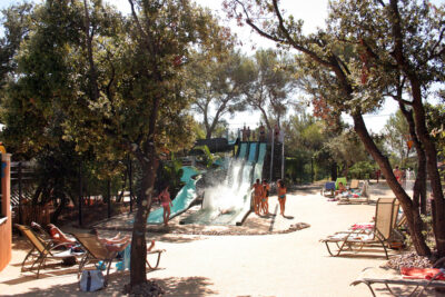 Bormes-les-Mimosas Wasserpark Baden Spiele Ferien