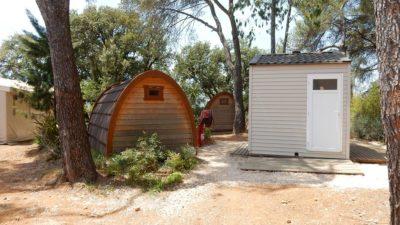 Ferien mit Familie oder Freunden auf einem Campingplatz