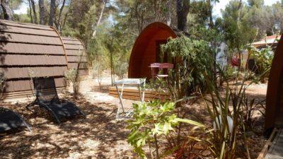 Preisgünstiger, umweltfreundlicher und naturnaher Campingplatz in Le Lavandou