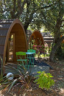 Billiger Campingplatz – Holzhütten für ungewöhnliche Ferien
