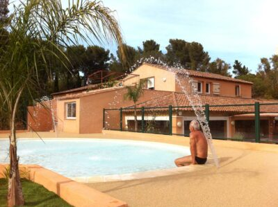 Beheiztes Schwimmbad Wasserpark Spa