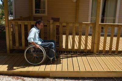Vermietung von barrierefreien Mobilhäusern für Menschen mit Handicap