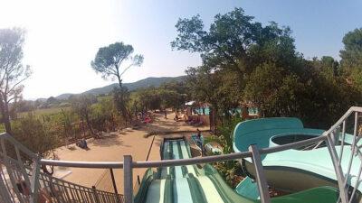 Camping Wasserrutsche Wasserspiele Beheizte Schwimmbäder Ferien Familie