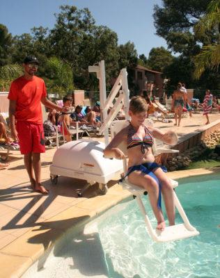 Côte d'Azur – Ferien mit barrierefreiem Pool für Menschen mit Handicap