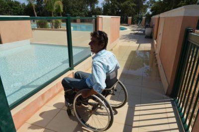 Barrierefreier Campingplatz für Menschen mit Handicap in der Provence