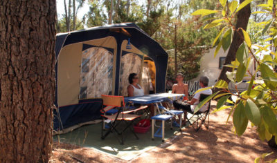 Umweltfreundlicher und naturnaher Campingplatz**** an der Côte d'Azur