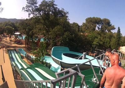 Camping Var Wasserrutsche Wasserspiele Beheiztes Schwimmbad