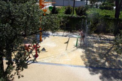 Am Meer Wasserspiele Beheizter Pool Familie