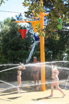 Erlebnisbad Wasserspiele Familie