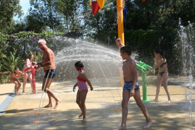 Camping La-Londe-les-Maures Wasserspiele Beheiztes Schwimmbad
