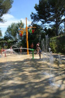 Camping Wasserrutschen Wasserspiele Kinderferien