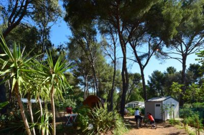 Ungewöhnlicher Campingplatz in der Provence für grosse Familien mit kleinem Ferienbudget