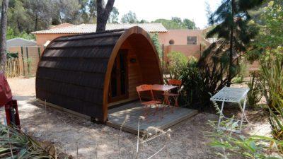 Ungewöhnlicher, naturnaher und umweltfreundlicher Campingplatz in Hyères