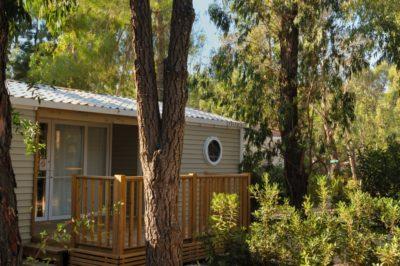 Hochwertiges Mobilhaus auf einem familienfreundlichem Campingplatz bei dem Strand von Hyères