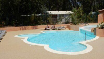 Camping Hyères Beheiztes Schwimmbad Zen Entspannung Spa Solarium Unterwasserstrand