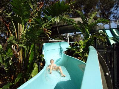 Wasserraum Rutsche Wasserspiele Ferien Kind