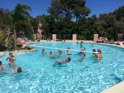 Camping Hyères Beheiztes Schwimmbad Animation Sport Ferien