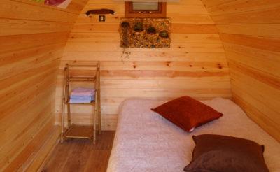 Ungewöhnliche Ferien in Holzhütten mit der Familie