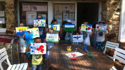 Aktivitäten im Kinder Club während der Familienferien an der Côte d'Azur