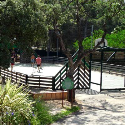 Camping mit Sportaktivitäten im Var
