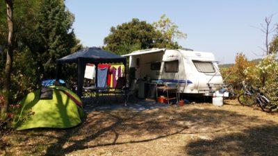 Familienferien mit dem Wohnwagen in Südfrankreich