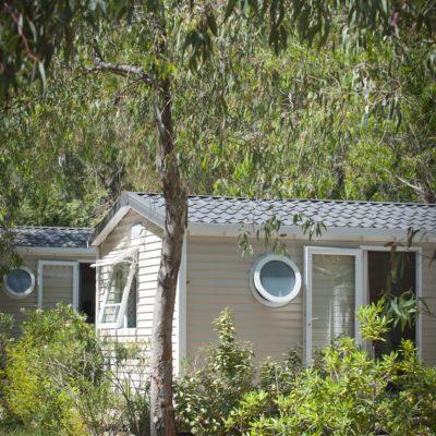 Vermietung Mobilhaus Avantage® mit Klimaanlage für 4 bis 6 Personen