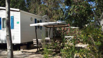 Mietobjekt: Mobilhaus für naturnahe Ferien auf einem Campingplatz