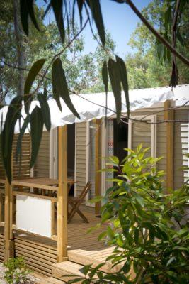 Mietobjekt: Mobilhaus auf einem Campingplatz****