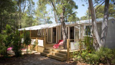Mobilhaus der Luxusklasse für 6 Personen auf einem Campingplatz****- Côte d'Azur
