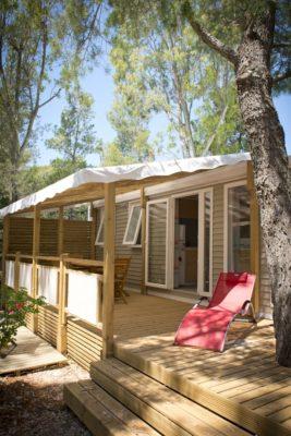 Mobilhaus mit Klimaanlage – Ferien an der Côte d'Azur – für 6 Personen