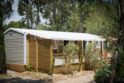 Mobilhaus der Luxusklasse mit allem Komfort – Klimaanlage, 3 Schlafzimmer und 2 Duschen an der Côte d'Azur