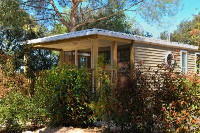 Mietobjekt: hochwertiges und voll eingerichtetes Mobilhaus mit Klimaanlage