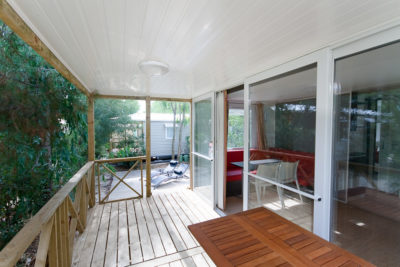 Mietobjekt: hochwertiges Mobilhaus bei der Halbinsel Giens