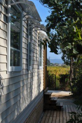 Naturnahes Mobilhaus der Luxusklasse in den Weinfeldern des Qualitätsweins 'AOC de Provence'