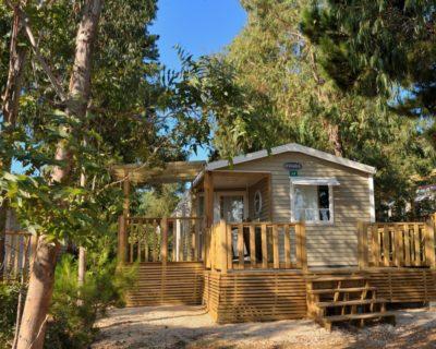 Mobilhaus für naturnahe Ferien in Strandnähe