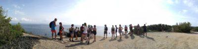 Aktivität Wandern mit der ganzen Familie vom Campingplatz aus