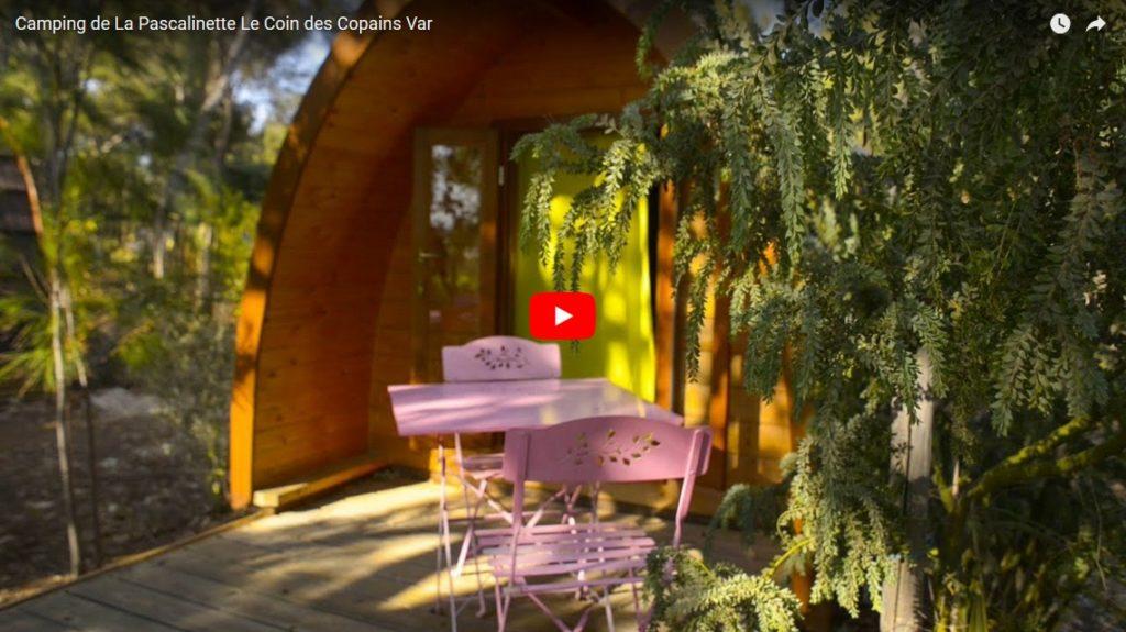 Camping de La Pascalinette Le Coin des Copains Var