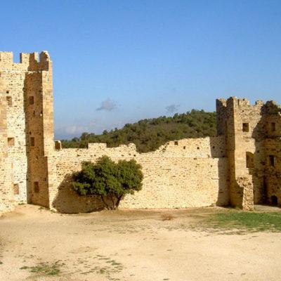 Die Burg von Hyères