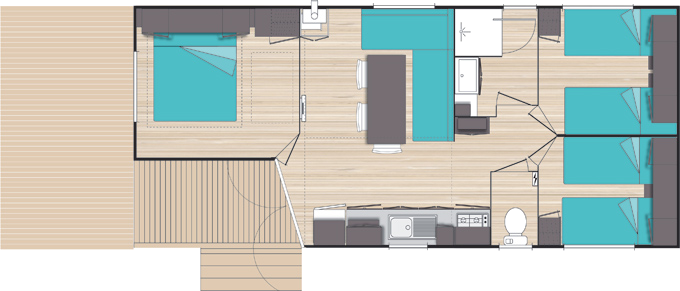 Gestaltung Mobilhaus