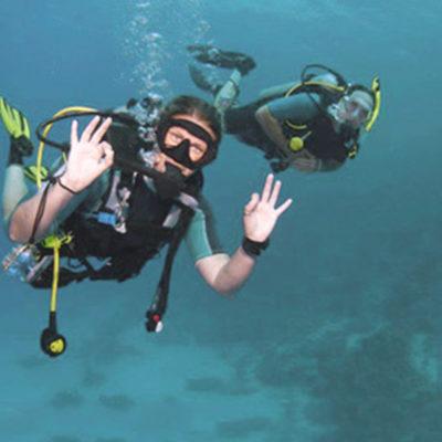 Unterwasserpfad von Le Pradet