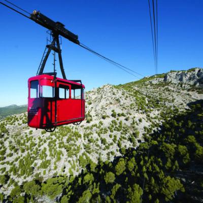 Der Berg Mont Faron