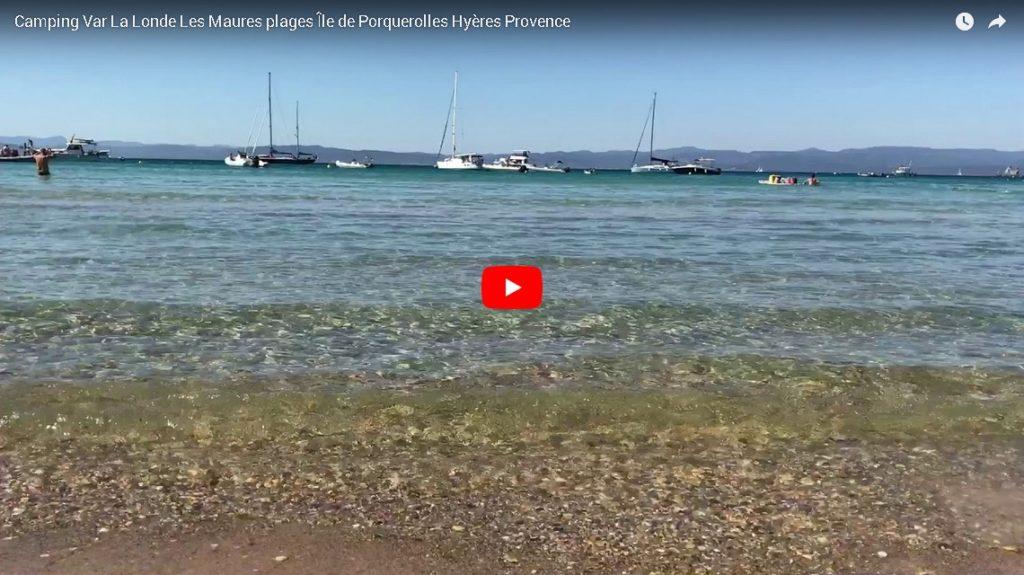 Camping Var La Londe Les Maures plages Île de Porquerolles Hyères Provence