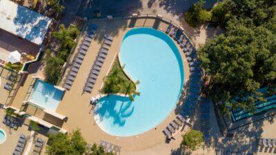 Bereich Wasser Beheizte Becken Wasserrutschen Ferien