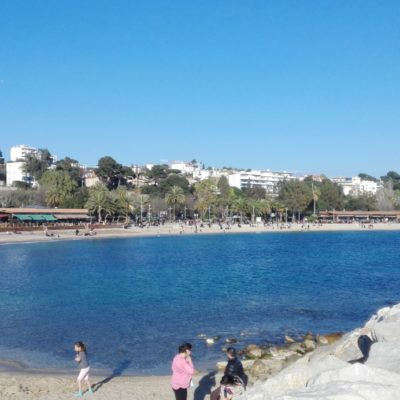 Die Strände von Mourillon (Toulon)