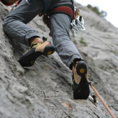 Klettern auf dem Berg Faron